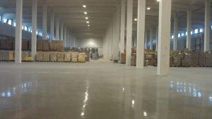 Фото наливных полов для складов