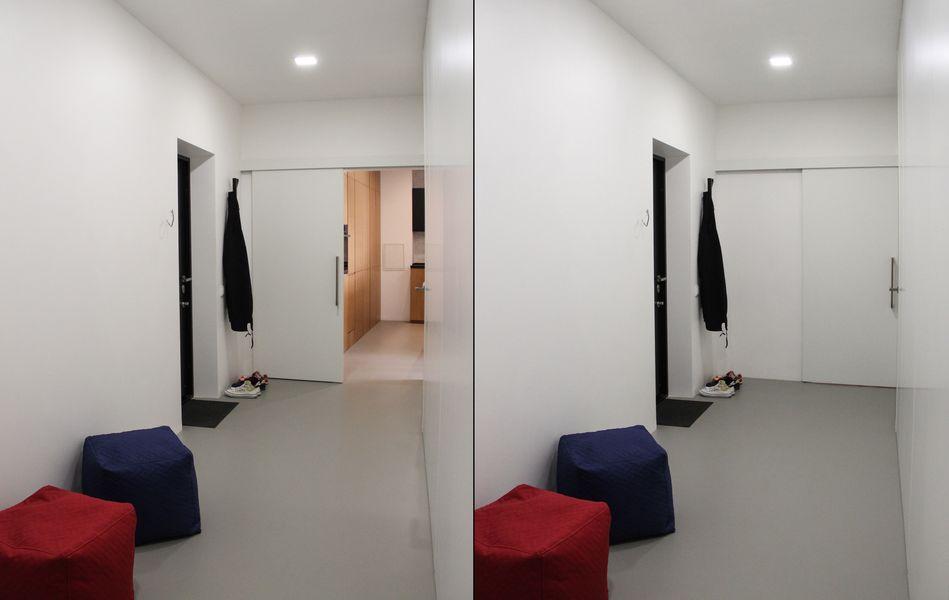 фото пола в коридоре